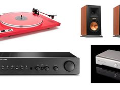 The Audiophiliac puts it together a few different ways, with turntable and/or digital stereo systems.