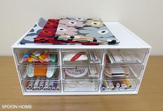 ソーイングセット・裁縫道具の収納アイデアのブログ画像