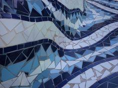 Gaudi style - seating mosaic