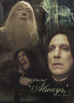 Severus Snape. Patronus: doe