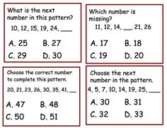 15 best number patterns images in 2016 number patterns math classroom math patterns. Black Bedroom Furniture Sets. Home Design Ideas