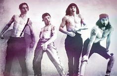 Young Red Hot Chili Peppers John Frusciante Anthony Kiedis Flea Chad Smith John Frusciante, Anthony Kiedis, Fleas, My Music, Rock And Roll, Masters, Chili, Bands, Stuffed Peppers