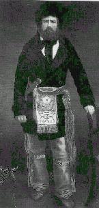 Joe Rollette Jr in Metis dress n.d. Jolly Joe was from a very important family in the Minnesota fur trade. Joe represented the melding of cultures on the Minnesota frontier and was a very key representative in the early Minnesota legislature.