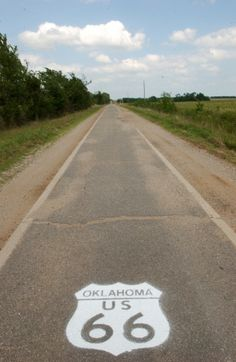 Historic Route 66, rode this on a motorcycle not all of it but some in oklahoma
