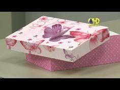Vida com Arte | Caixa de Borboleta em 3D por Márcia Caires - 03 de Junho de 2015 - YouTube
