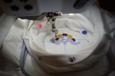 How to Embroider an Item Which Cannot be Hooped