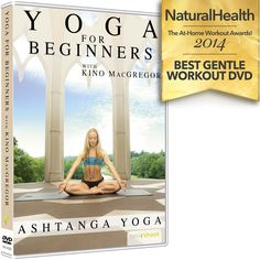 In this Beginner's Yoga DVD, Kino MacGregor introduces you to the practice of Ashtanga Yoga taught to her by Sri K. Pattabhi Jois and R. Sharath Jois in Mysore, India. As a professional yoga teacher, . Kino Macgregor, Ashtanga Vinyasa Yoga, Yoga Sequence For Beginners, Acupuncture For Weight Loss, Yoga Books, Yoga At Home, Yoga Lifestyle, Yoga Sequences, Yoga Videos