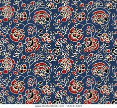 Kalamkari Textile Design Pattern Background Stok İllüstrasyon 1524315470 Kalamkari Designs, Pattern Background, Textile Design, Pattern Design, Textiles, Illustration, Illustrations, Cloths, Textile Art