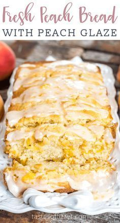 Peach Bread is a wonderful recipe to incorporate summer peaches. Delicious This Peach Bread is a wonderful recipe to incorporate summer peaches. This Peach Bread is a wonderful recipe to incorporate summer peaches. Fresh Peach Recipes, Sweet Recipes, Recipes With Peaches, Peach Recipes Breakfast, Desserts With Peaches, Peach Cake Recipes, Peach Recipes For Canning, Peach Cookies Recipe, Peach Muffin Recipes