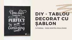 Diy Decoupage Tutorial, Company Logo, Tech Companies, Orice, Stencil, Stenciled Table, Stenciling