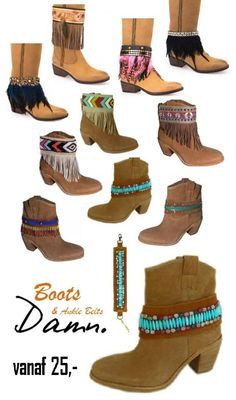 BOOTBELTS, Pimp your boots met Damn Fashion Bootbelts www.stylebird.nl