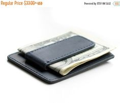 Money Clip Wallet Mens Wallet Personalized if need by zhenique