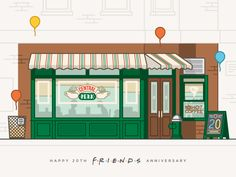 Happy 20th Anniversary, Friends! by Gustavo Zambelli for Ricos Quesos