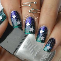 Why wait for a shooting star if you can have it on your fingertips? Rikki takes us to a trip into space with the use of the lacquers she received from Formula X #InfiniteOmbre as part of the Preen Me VIP program.