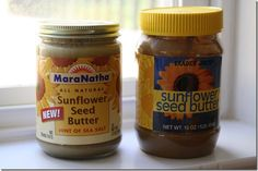 Sunflower butter. I was apprehensive at first, but OMG it's my favorite