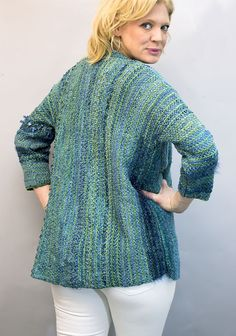 PATTERNFISH - the online pattern store LAURA BRYANT for Prism Yarn   2014 8004 NAPLES JACKET