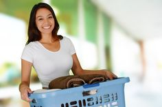 5 Tips For Organizing Laundry - http://blog.storageseeker.com/main/5-tips-for-organizing-laundry