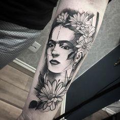 Tatuaje de Frida Kahlo