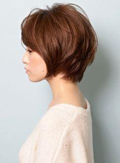 「カジュアル×エフォートレス」ショート(髪型ショートヘア)