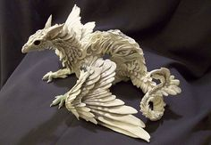 Creatures Fromel - OnEtsy - Cold Porceline Sculpture