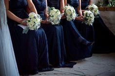 navy bridesmaid dresses
