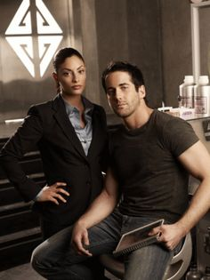 My favorite couple from Eureka . . . this show was cancelled too soon! At least it had a good ending. . .