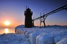 South Haven, Mi Lighthouse 2-25-13