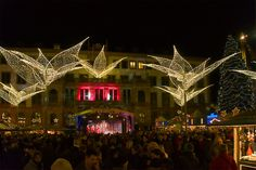 Sternschnuppenmarkt Wiesbaden - Christmas market - Wikipedia, the free encyclopedia