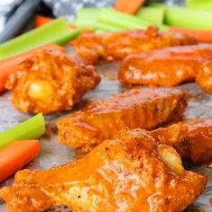 Buffalo Wing Sauce Recipe & Crispy Baked Wings - The Anthony Kitchen Baked Bbq Chicken Legs, Chicken Wing Recipes, Thai Chicken, Healthy Comfort Food, Comfort Foods, Turkey Casserole, Easy Casserole Recipes, Sauce Recipes, Thai Recipes