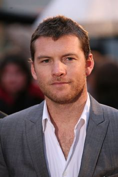 Sam Worthington - I've been told I'm only attracted to him b/c he resembles my husband...