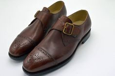 Handmade Goodyear Welted  Men's Single  Monk-Strap  Dress Shoes Leather Fashion, Mens Fashion, Nike Air Max Tn, Goodyear Welt, Air Jordan Shoes, Dream Shoes, Shoe Game, Leather Heels, Nike Shoes