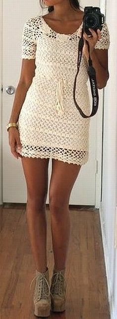 Sommerkleid beige (1)