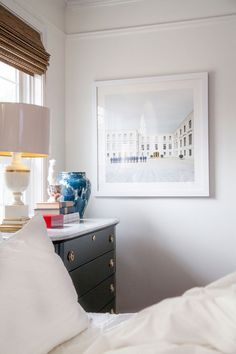 chic, affordable art for the bedroom