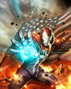Iron Patriot by Genzoman *