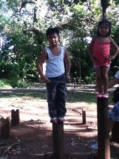 balance exercises for kids :)