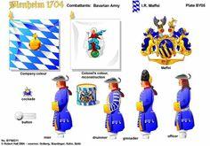 BLENHEIM 1704 BAVARIA:IR MAFFEL REGIMENT OF FOOT  http://onmilitarymatters.com/images/RHBY05.jpg