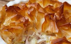 Hairy Bikers low calorie chicken and ham tangle pie