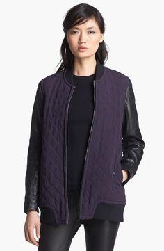 Purple and Black Jacket.