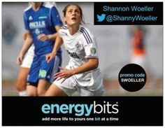 "SHANNON WOELLER: Shannon currently plays for IK Grand Bodø club in Norway. She was 15 years old when she made her debut in the Canadian youth program in 2005. She also finished second with Canada at the 2012 Cyprus Women's Cup. Shannon grew up competing in soccer, basketball, baseball, cross country, and skiing. ""I like BITS because they are healthy and clean  source of energy. I try to do everything I can to be the best version of myself and BITS are a high quality fuel."""