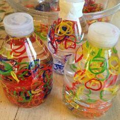 garrafas sensoriais como fazer - Pesquisa Google