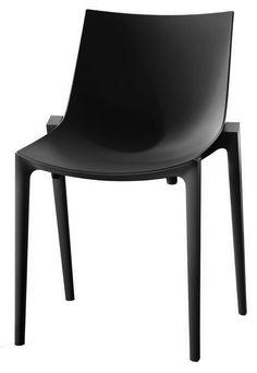 Magis - Zartan Basic - Chair - Antraciet   Koop nu €155,00   Laagste Prijs Garantie