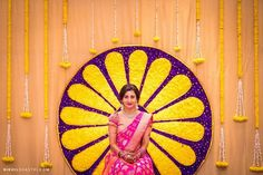 The Sweetest Bunt Wedding in Bangalore! Marriage Decoration, Wedding Stage Decorations, Flower Decorations, Backdrop Decorations, Flower Garlands, House Decorations, Wedding Mandap, Wedding Backdrops, Wedding Dresses