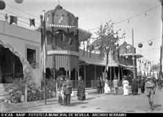 Así era la Feria de Abril en 1913.