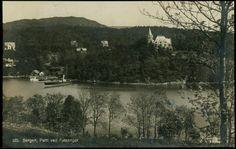 Hordaland fylke Bergen Parti ved Fjøsanger. Utg C.A. Erichsen. Stemplet 1923