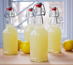 Ferment the lemonade and you will add an entire new dimension to it – probiotics and some fizz. We all know that probiotics support our digestive system and are beneficial…