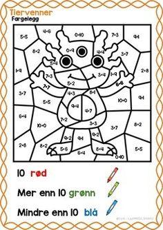 Tiervenner by LaerMedLyngmo Teaching Math, Teacher, Education, Homeschooling, Barn, Fictional Characters, Places, Tips, Ideas