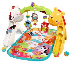 Fisher Price Newborn to Toddler Playgym Play mat with hanging toys for infant. Balls that roll down for toddler. Fisher-Price Other Baby Play, Baby Toys, Toddler Gym, Girl Toddler, Fox Toys, Mattel, Play Gym, Developmental Toys, Activity Toys