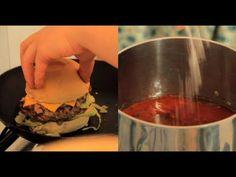 Hamburguer e Ketchup Caseiro - YouTube