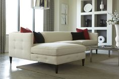 Contemporary Chic Rowe Furniture Claire Sofa & Chaise