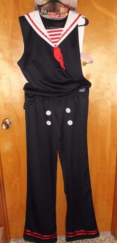 """LIP SERVICE Costume Vault """"All Hands On Deck"""" sleeveless shirt and pants #M56-003"""